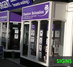 Shop Sign Design Runcorn